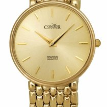 Condor Yellow gold 33mm Quartz GS21001 new United States of America, New York, Monsey