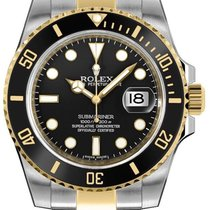 Rolex Submariner Date Gold/Steel 40mm Black No numerals United States of America, New Jersey, Woodbridge