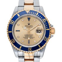 Rolex Submariner Date 16613SG pre-owned