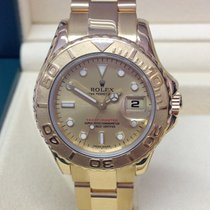 Rolex Yacht-Master Yellow gold 29mm Champagne No numerals United Kingdom, Wilmslow