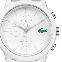 Lacoste Plastic 44mm Quartz 2010974 new