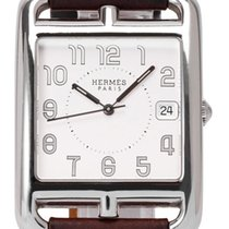 Hermès Steel 46mm Quartz CC1.810 pre-owned
