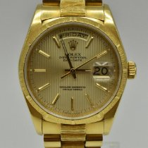 Rolex Day-Date 36 Yellow gold 36mm Champagne No numerals United States of America, Texas, Houston
