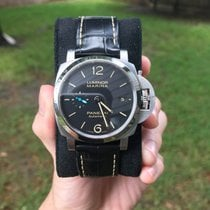 Panerai Luminor Marina 1950 3 Days Automatic Steel 42mm Black Arabic numerals United States of America, New York, Miami