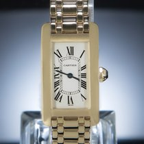 Cartier Yellow gold 19mm Quartz W26015K2 pre-owned