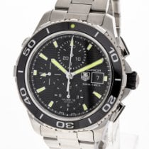 TAG Heuer Steel 43mm Automatic CAK2111.BA0833 pre-owned