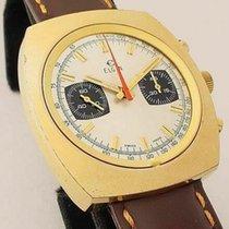 Elgin Yellow gold 39mm Manual winding pre-owned