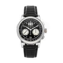 A. Lange & Söhne Datograph Platinum 39mm Black Roman numerals
