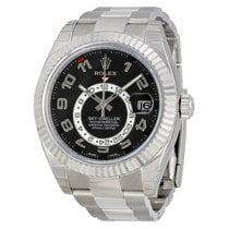 Rolex Sky-Dweller White gold 42mm Black Roman numerals United States of America, New York, New York