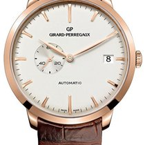 Girard Perregaux 1966 Date Small Seconds 49543-52-131-BKBA