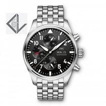 IWC Pilot's Watch Chrono Steel Bracelet 377710 - Iw377710