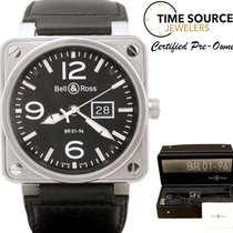 Bell & Ross Grande Date BR01-96 Automatic Stainless B&P 46mm...