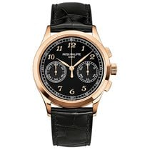 Patek Philippe Chronograph Rose gold 39.4mm Black Arabic numerals United States of America, New York, New York