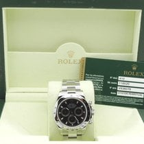 Rolex Cosmograsph Daytona Black Full Set Mint as New