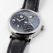 A. Lange & Söhne Grand Lange 1 Platinum 40.9mm Black Roman numerals United States of America, Texas, Houston