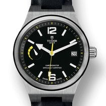 Tudor North Flag Acero 40mm Negro
