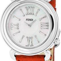Fendi Steel 35mm Quartz F8010345H0 new