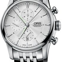 Oris Artelier Chronograph Steel Silver United States of America, New York, Brooklyn