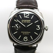 Panerai Radiomir 8 Days Steel 45mm Black Arabic numerals