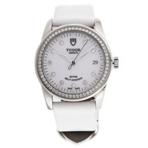 Tudor Glamour Date Steel 36mm White