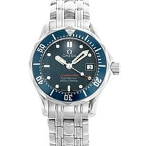 Omega 2224.80.00 Steel 2014 Seamaster Diver 300 M 28mm pre-owned