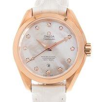 Omega Seamaster Aqua Terra Rose gold 34mm White