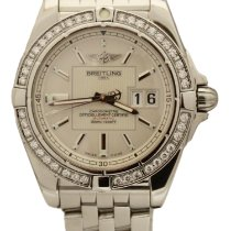 Breitling Galactic 41 Steel 41mm White United States of America, New York, Huntington Village