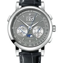 A. Lange & Söhne White gold Manual winding Grey 41mm new Datograph