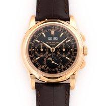 Patek Philippe Red gold Manual winding 40mm pre-owned Perpetual Calendar Chronograph
