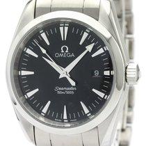 Omega Seamaster Aqua Terra Steel 36mm Black