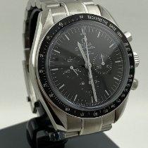 Omega Speedmaster Professional Moonwatch Steel 44mm Black No numerals