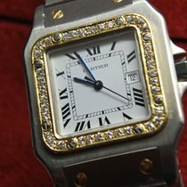 Cartier Santos (submodel) Gold/Stahl
