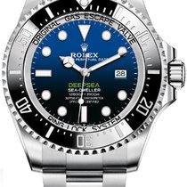 Rolex Sea-Dweller Deepsea Сталь 44mm Синий Без цифр Россия, Moscow