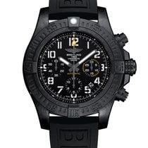 Breitling Carbon Automatic Black Arabic numerals 45mm new Avenger Hurricane