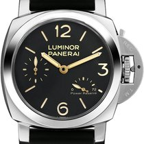 Panerai Luminor 1950 3 Days Power Reserve Steel 47mm Black Arabic numerals United States of America, California, Moorpark