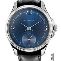 Rolf Lang 41/42mm Manual winding 2014 new Blue