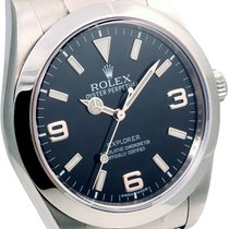 Rolex Mens SS Explorer 39mm - 214270