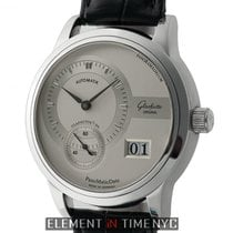 Glashütte Original PanoMaticDate Steel 39mm Silver United States of America, New York, New York