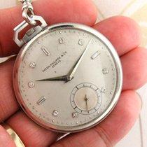 Patek Philippe Часы подержанные Платина Без цифр Механические Только часы
