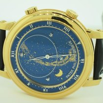 Patek Philippe Celestial Yellow gold 43mm Blue Roman numerals United States of America, New York, Greenvale