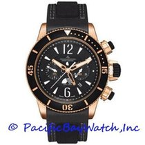 Jaeger-LeCoultre Master Compressor Diving Chronograph GMT Navy SEALs Rose gold 47mm Black Arabic numerals