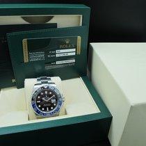 "Rolex GMT-MASTER 2 116710BLNR ""BATMAN"" Blue/Black Full..."