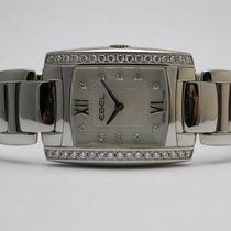 Ebel A121777 Brasilia Steel 10 Diamond Mother Of Pearl Dial...