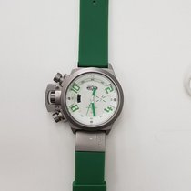 Welder Rare Green Men's K24 50mm Chronograph Quartz Watch