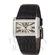 Cartier Tank Divan Steel 38mm Champagne Roman numerals United States of America, New York, Hartsdale