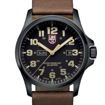 Luminox Stal 45mm Kwarcowy XL.1929 LUMINOX LAND Atacama Field Giorno Nero Marrone 45mm nowość