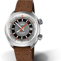 Oris Chronoris Steel 39mm Grey No numerals