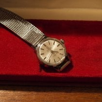 Omega Genève Steel 20mm Silver No numerals