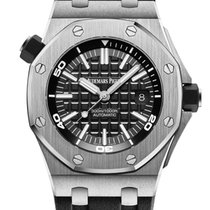 Audemars Piguet Royal Oak Offshore Diver Steel 42mm Black No numerals United States of America, Iowa, Des Moines