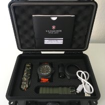 Victorinox Swiss Army Carbon 43mm Quartz 241800.1 new